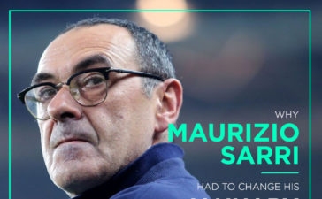 Why Maurizio Sarri had to change his January transfer policy?