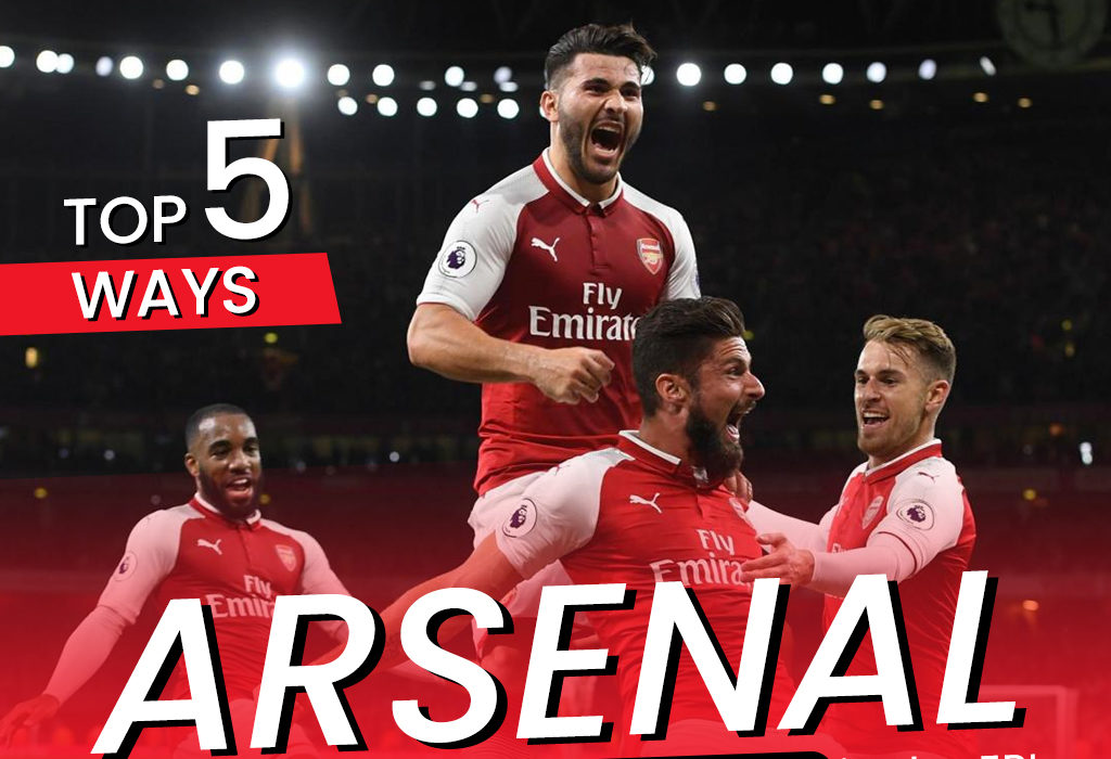 Top 5 ways Arsenal can break the trophy drought in the EPL